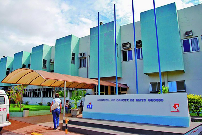 Resultado de imagem para Hospital de Câncer de Mato Grosso (HCanMT)